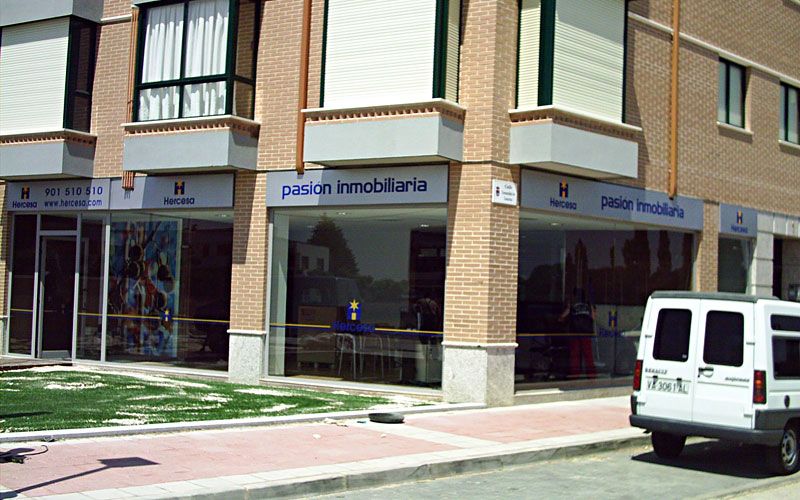 T cnicas e imagen corporativa s l clientes hercesa for Oficinas centrales sanitas madrid